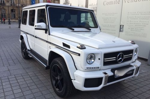 LOUER MERCEDES CLASSE G 63 AMG